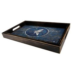 Minnesota Timberwolves Distressed Serving Tray, Multicolor