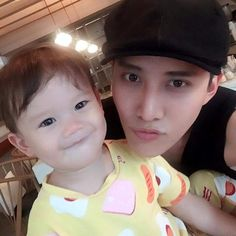 Sweet smile  @m1keangelo #m1keangelo #maxwell #daddymike #babymaxwell #sweetsmile #MikeandMax #fatherandson #lovely #moment #mikedangelo #official #line #fathersday #m1keangelo_interfanpage Handsome Actors, Handsome Boys, Full House Thai, Mike D Angelo, Eternal Love Drama, Korean Babies, Thai Drama, Asian Actors, Father And Son