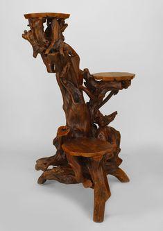 adirondack rustic furniture | misc_furniture_pedestal_Rustic_Adirondack_060358-02.jpg