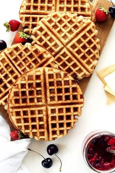 6 Waffle Recipes That'll Make You Want Breakfast All Day via Refinery29