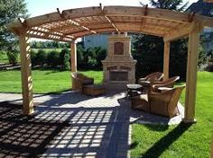 Arched pergola plans In approaching my arched pergola design I drew inspiration . Arched pergola p Cedar Pergola, Curved Pergola, Pergola Swing, Pergola With Roof, Wooden Pergola, Outdoor Pergola, Backyard Pergola, Fire Pit Backyard, Pergola Shade