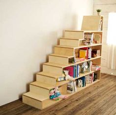 Attirant BIRCH STAIR BOOKCASE Something/like/this/stairs/in/my/room