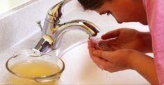 Lave o rosto com vinagre de maçã todas as noites - em 5 dias, isto vai…