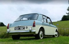 """Our first """"New"""" car , 1963 Irish blue and old english white Automobile, Fiat 600, Morris, Old English, Birmingham, Cars And Motorcycles, Vintage Cars, Dream Cars, Classic Cars"""