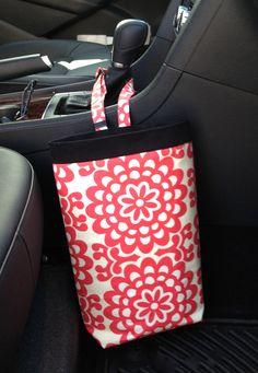 Car Trash Bag AMY BUTLER LOTUS Women Car Litter Bag by GreenGoose, $24.00