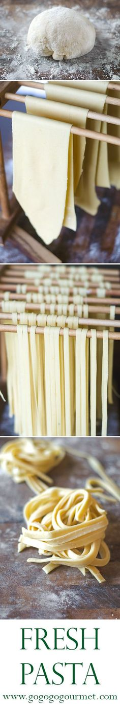 Don't be intimidated by fresh pasta- I promise it is well worth the effort!   Go Go Go Gourmet @gogogogourmet