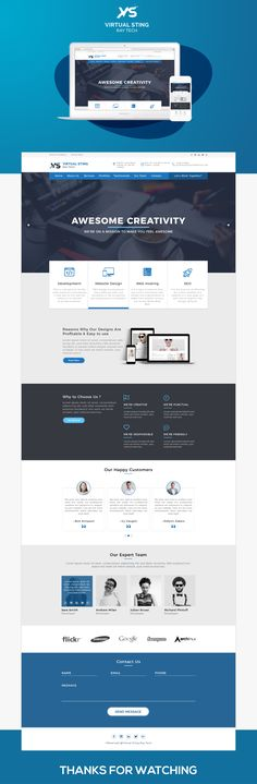 """Check out this @Behance project: """"Virtual Sting Ray Tech Website_HomePage Design"""" https://www.behance.net/gallery/58564277/Virtual-Sting-Ray-Tech-Website_HomePage-Design"""