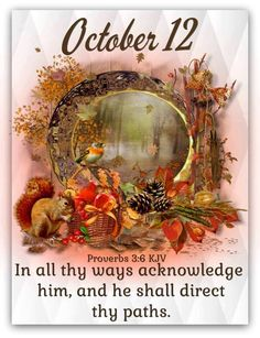Daily Scripture, Scripture Verses, Bible Verses Quotes, October Calender, Calendar, God Loves Me, Verse Of The Day, Picture Quotes, Proverbs