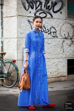 ❤ #street #fashion #snap from Milan Men's SS 2017 Street Style: Sherry Shen http://fancytemplestore.com