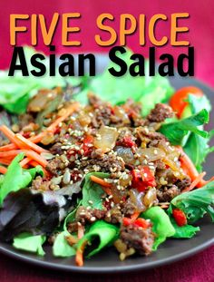 Five Spice Asian Salad
