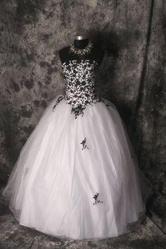 plesové či svatební šaty dark 662 - vampire, gothic, emo, lolita, burlesque, retro, pin-up, shop