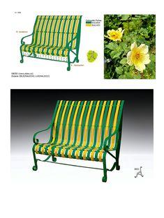 Parks, Park Benches, Design Moderne, Outdoor Furniture, Outdoor Decor, Bunt, New Fashion, Home And Garden, Backyard
