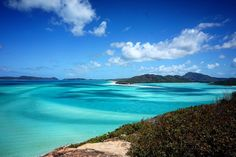 Whitsunday Islands check!  #australia #queensland #greatbarrierreef #whitsundayislands #whitehavenbeach #sea #colors #horizon #landscape #beach #blue #beautiful #photooftheday by lottehartman http://ift.tt/1UokkV2
