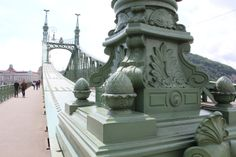 The stunning Chain Bridge in Budapest. next to where the river cruise ships dock. http://www.tipsfortravellers.com/uniworld-budapest/ @Uniworld Boutique River Cruises @titantraveluk #exploreuniworld #titantraveluk #budapest