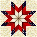 Patriotic Blazing Star - tutorial