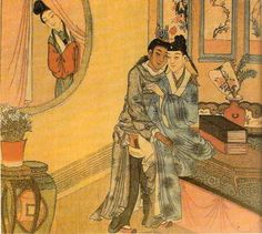 Woman_spying_on_male_lovers.jpg (408×366)