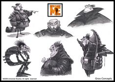 Despicable Me - Groo early_concepts