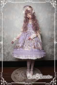 c582a6d7475415 Krad Lanrete -Beauty and the Beast- Lolita Jumper Dress Version I