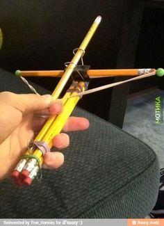 DIY bow and arrow