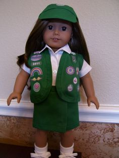 18 Inch Doll Clothes - Junior Girl Scout Uniform e38d34e57a80