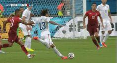 Jermaine Jones amazing goal! #USsoccer