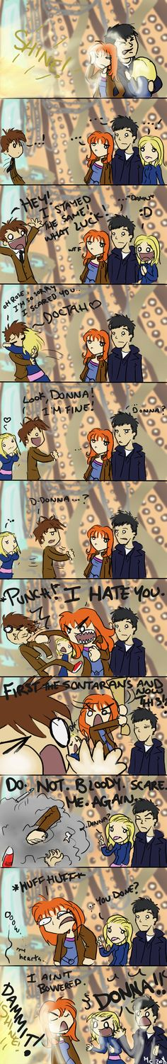 Words cannot describe how much I love Donna Noble.
