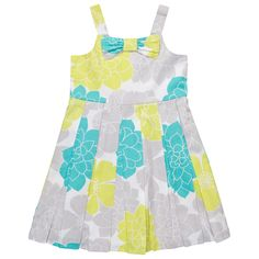 Print Sateen Dress | Toddler Girl Dresses & Rompers