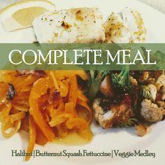 Rich and Satisfying Baked Halibut, Creamy Butternut Squash Fettuccine, and Flavorful Veggie Stir Fry Medley Mixed Vegetables, Veggies, Healthy Oils, Healthy Recipes, Vegetarian Bacon, Vegetable Medley, Veggie Stir Fry, Dairy Free, Gluten Free