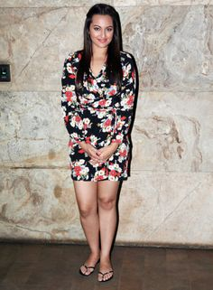 Sonakshi Sinha at the screening of Queen. #Style #Bollywood #Fashion #Beauty