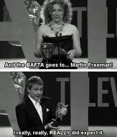 Martin Freeman - hahaha