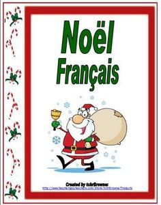French Christmas Worksheets and Activities $5