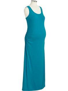 Maternity Tank Maxi Dresses Product Image