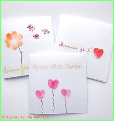Fingerprint Flower Mother's Day Card – Crafty Morning Mothers Day Crafts, Mother Day Gifts, Fathers Day, Diy For Kids, Crafts For Kids, Fingerprint Art, Grandma Birthday, Kids Cards, Teacher Gifts