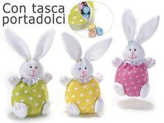Coniglio portadolci da appendere in maglia c-cerniera