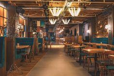 Aydınlatma ve Dekor Dünyasından Gelişmeler: Yellow Office Architecture'dan Köstence'de The Lodge Restaurant #aydinlatma #lighting #design #tasarim #dekor #decor