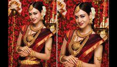 Las fotos de las mujeres de la India en el día de sus bodas causan sensación en Pinterest. Belleza y tradición.