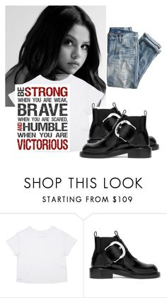 """""""Be This"""" by lvoth ❤ liked on Polyvore featuring J.Crew and Maison Margiela"""