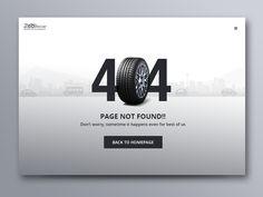 Daily UI #008 - 404 page #dailyui #008 by pramod kabadi