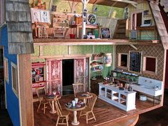 Dream cabin...just very, very tiny.