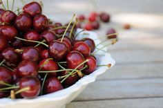 ReNika: How I was baking Cherry Cake, Homemade, Baking, Fruit, Garden, Flowers, Food, Garten, Bakken