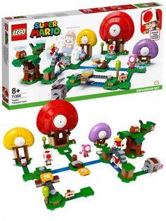 LEGO Super Mario 71368 Ekstrabanen Toads skattejakt Super Mario App, Toad House, Make Build, Free Lego, Buy Lego, Creative Play, Lego Sets, Overwatch, The Expanse