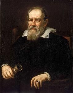 Galileu - Matemático que elaborou a teoria do Heliocentrismo, muito controversa na época, mas com o tempo virão que ele estava certo.