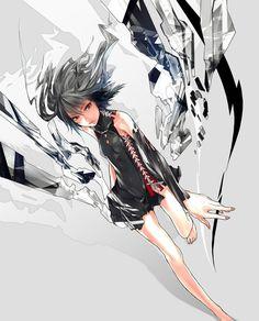 Amazing manga art from Redjuice