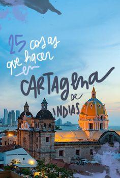 25 cosas que ver y hacer en Cartagena de Indias Visit Colombia, Colombia Travel, Vacation Trips, Dream Vacations, The Places Youll Go, Places To Go, Travel Through Europe, Thailand, Equador