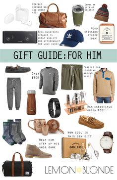 Gift Guide for the Man in your Life — Lemon Blonde - Gifts and Costume Ideas for 2020 , Christmas Celebration