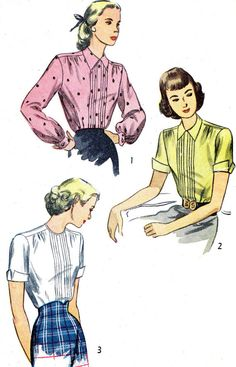 1940s Blouse Pattern