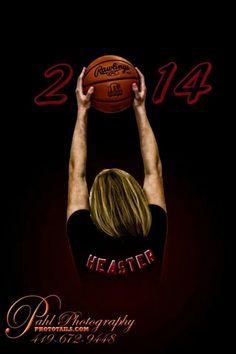basketball  senior pic | High school Senior basketball