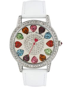MULTI COLOR HEARTS WATCH MULTI accessories jewelry watches fashion woooww