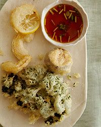 Airy Tempura with Ginger-Ponzu Dipping Sauce | Food & Wine