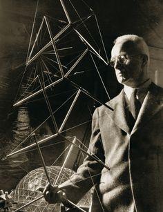 Buckminster Fuller. Tensegrity Tower. 1960.